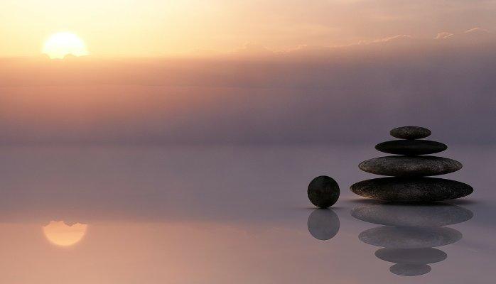 אבנים בערימה - איזון